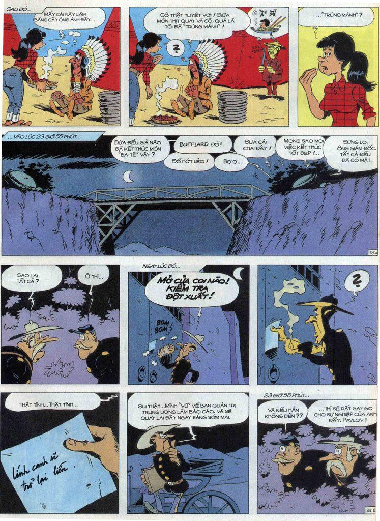 Lucky Luke tập 68 trang 35