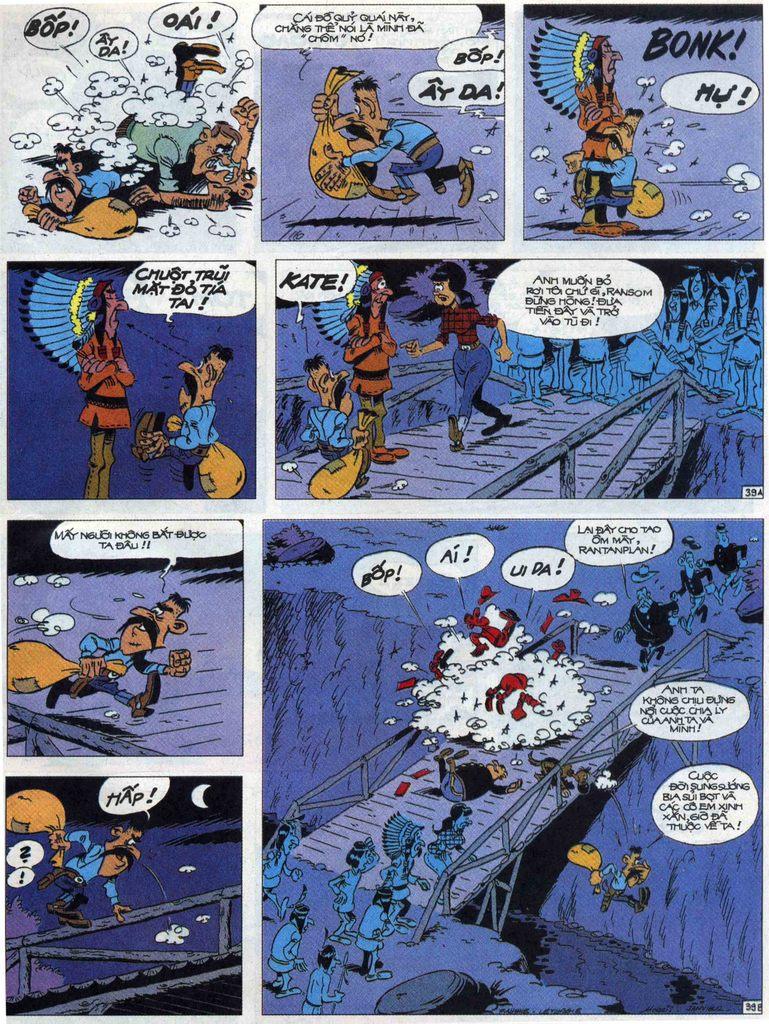 Lucky Luke tập 68 trang 39