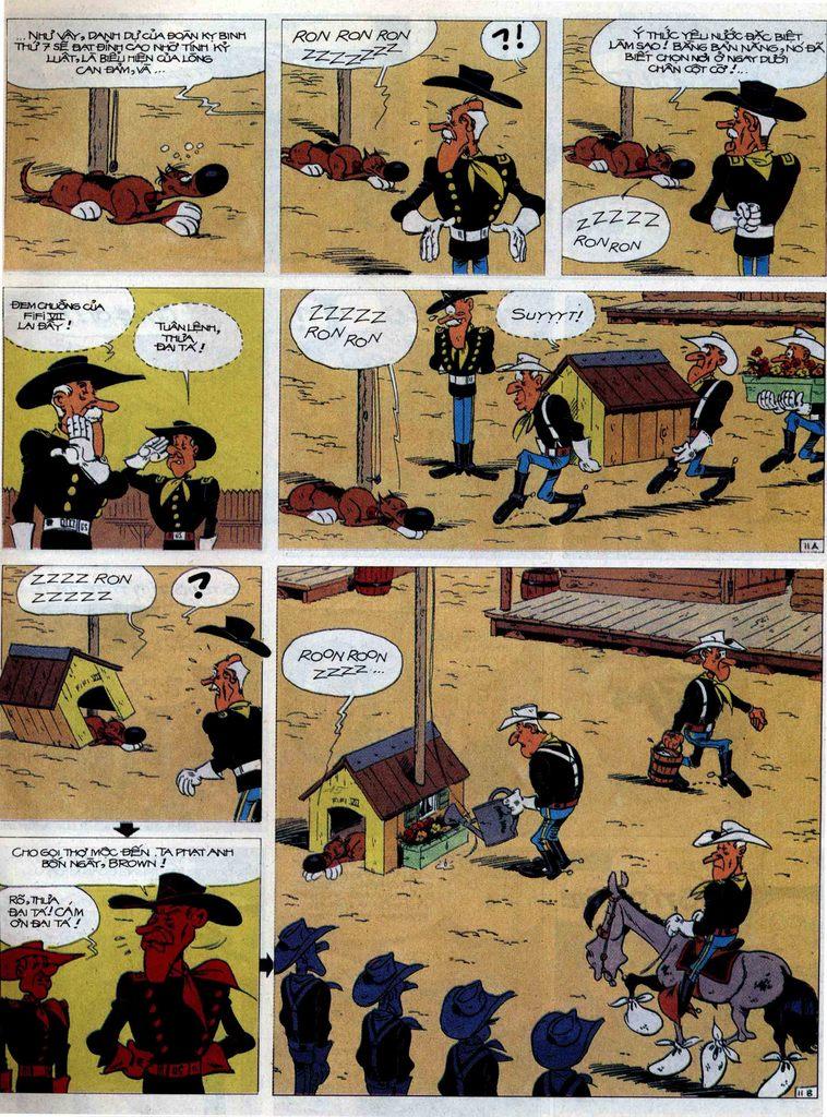 Lucky Luke tập 60 trang 11