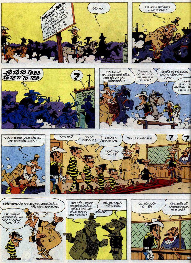 Lucky Luke tập 62 trang 10