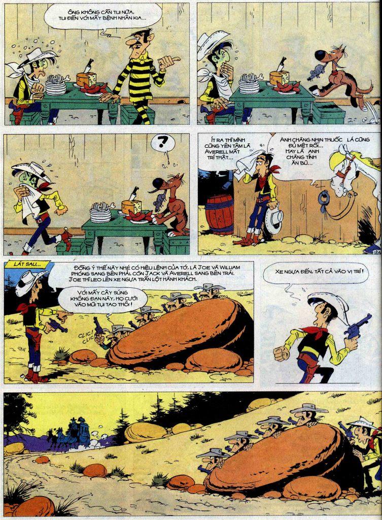 Lucky Luke tập 62 trang 18