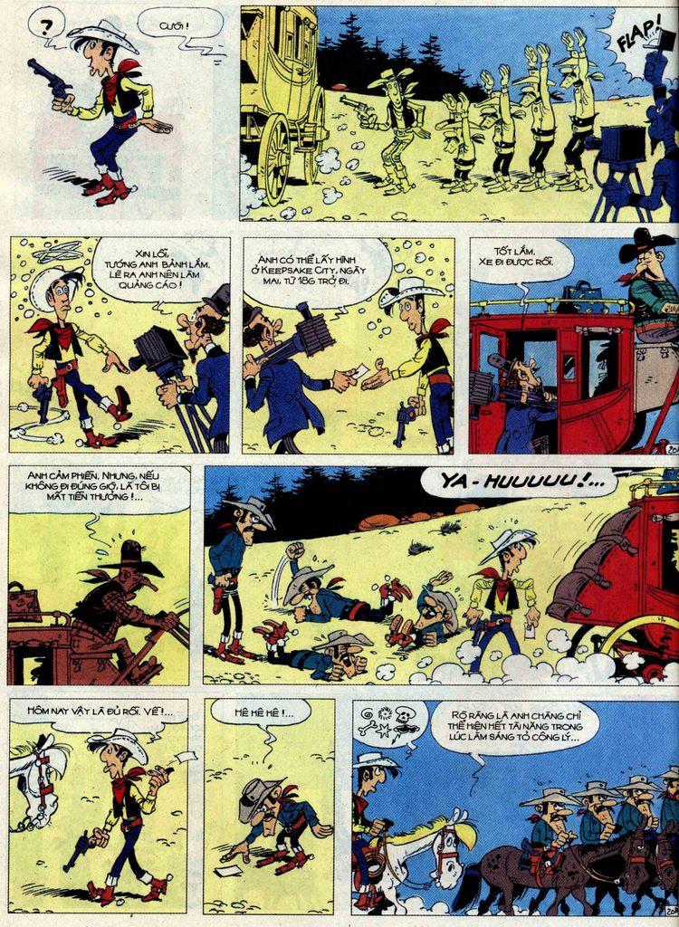 Lucky Luke tập 62 trang 20