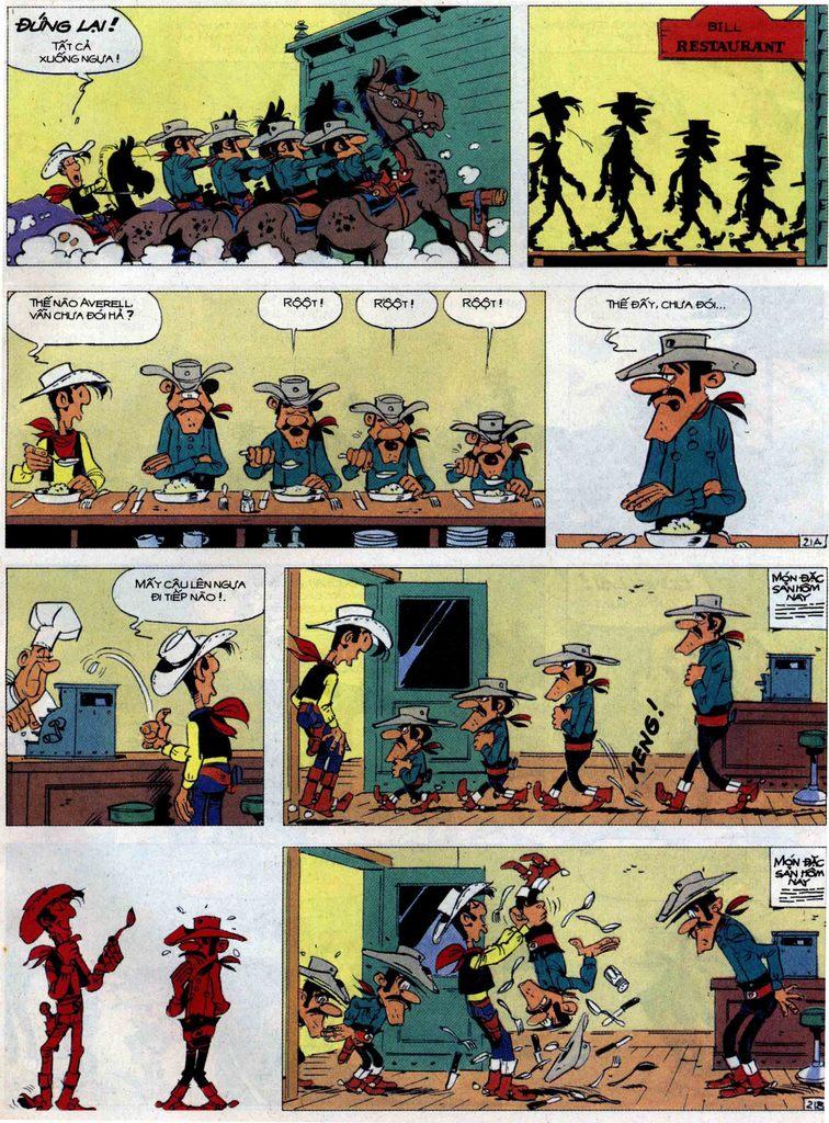 Lucky Luke tập 62 trang 21