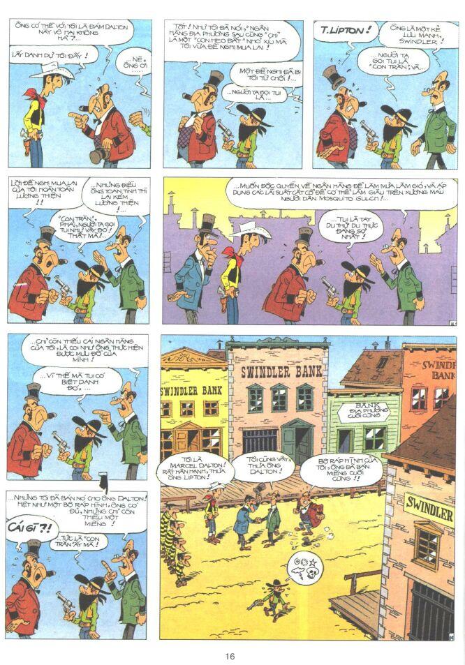 Lucky Luke tập 61 trang 14