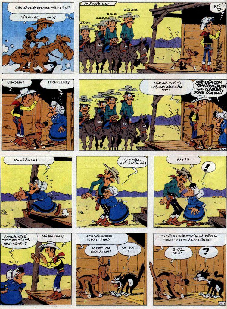 Lucky Luke tập 62 trang 26