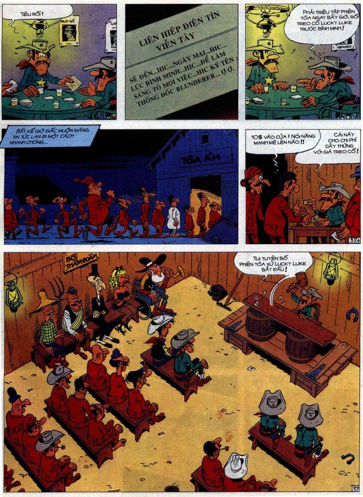 Lucky Luke tập 62 trang 37