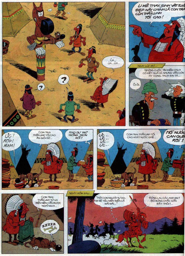 Lucky Luke tập 60 trang 20