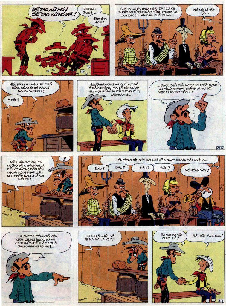 Lucky Luke tập 62 trang 41