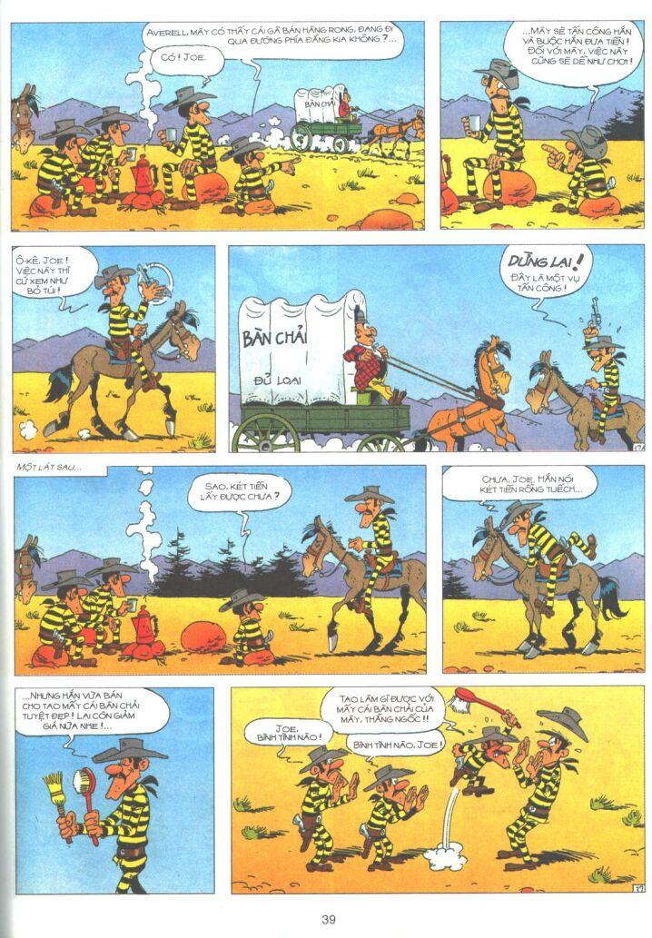 Lucky Luke tập 61 trang 37
