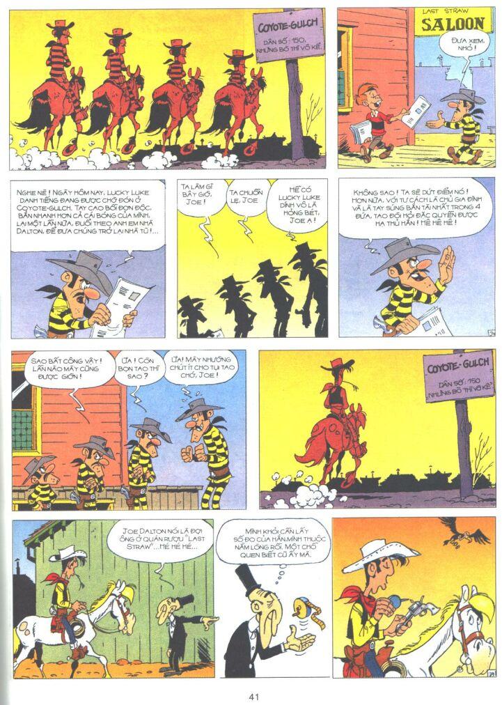 Lucky Luke tập 61 trang 39