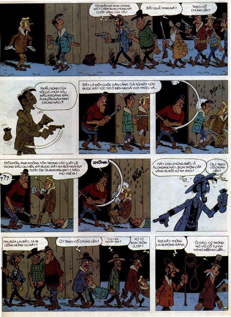 Lucky Luke tập 58 trang 29