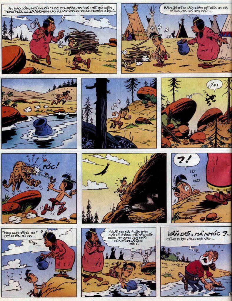Lucky Luke tập 56 trang 14