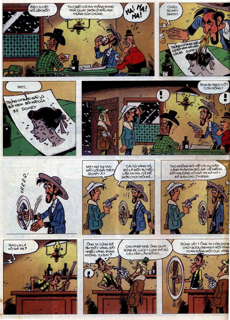 Lucky Luke tập 58 trang 32
