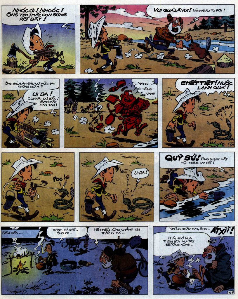 Lucky Luke tập 56 trang 5