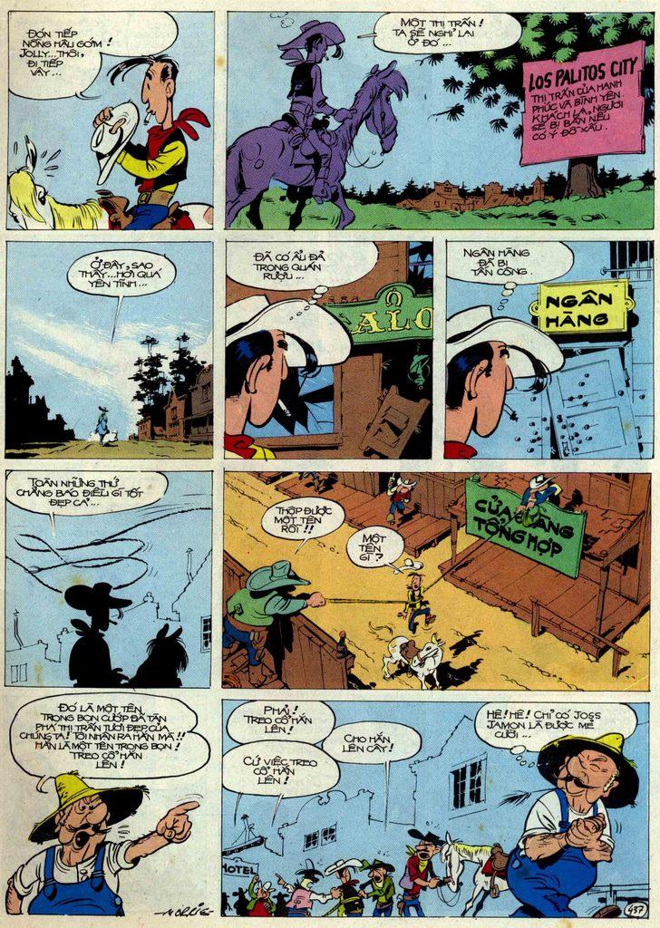 Lucky Luke tập 54 trang 3