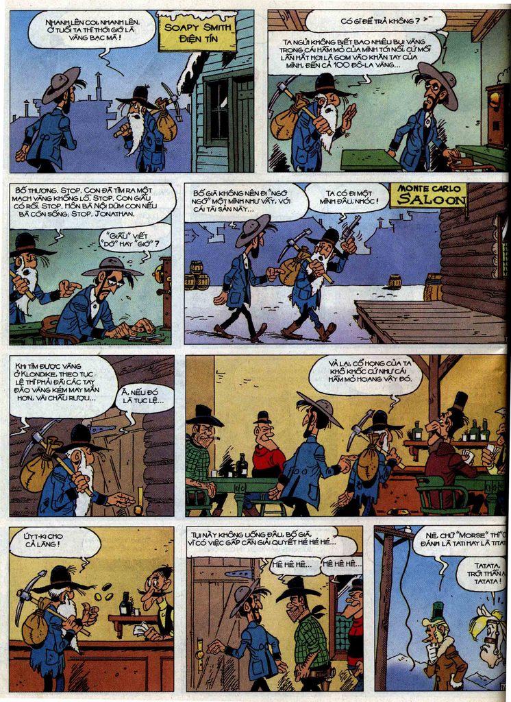 Lucky Luke tập 58 trang 36