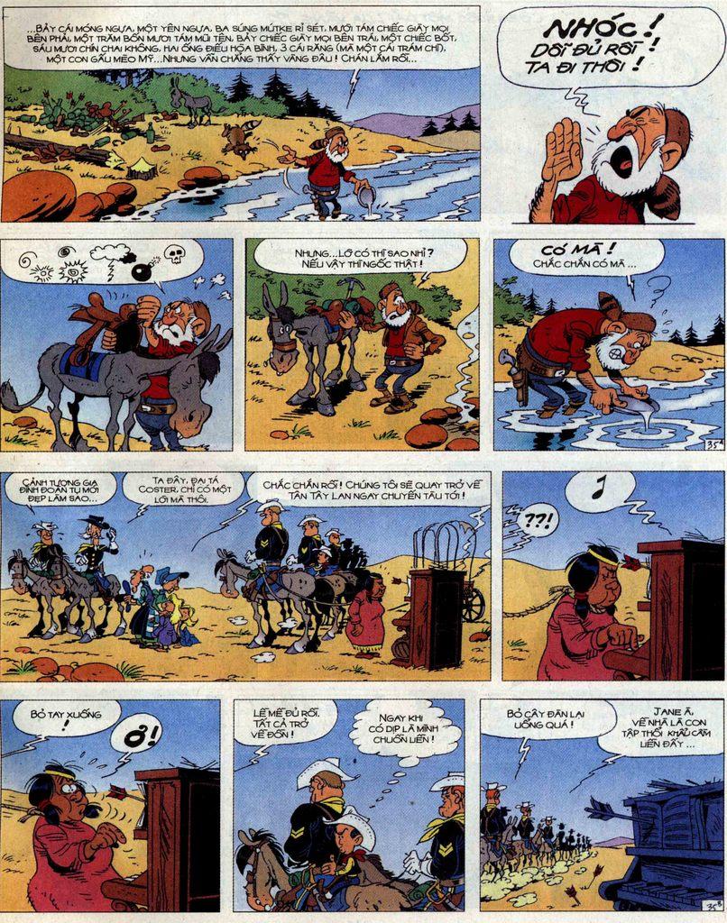 Lucky Luke tập 56 trang 35