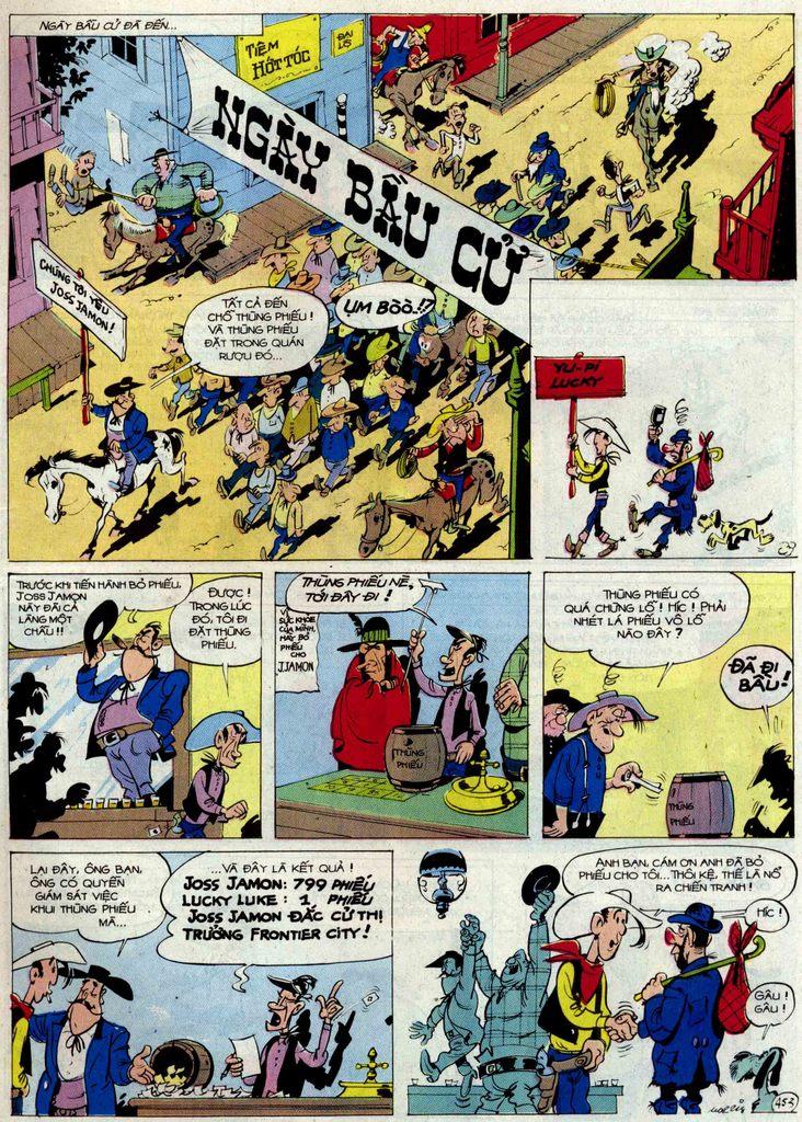 Lucky Luke tập 54 trang 19