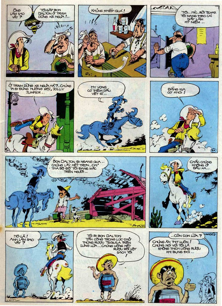 Lucky Luke tập 50 trang 9