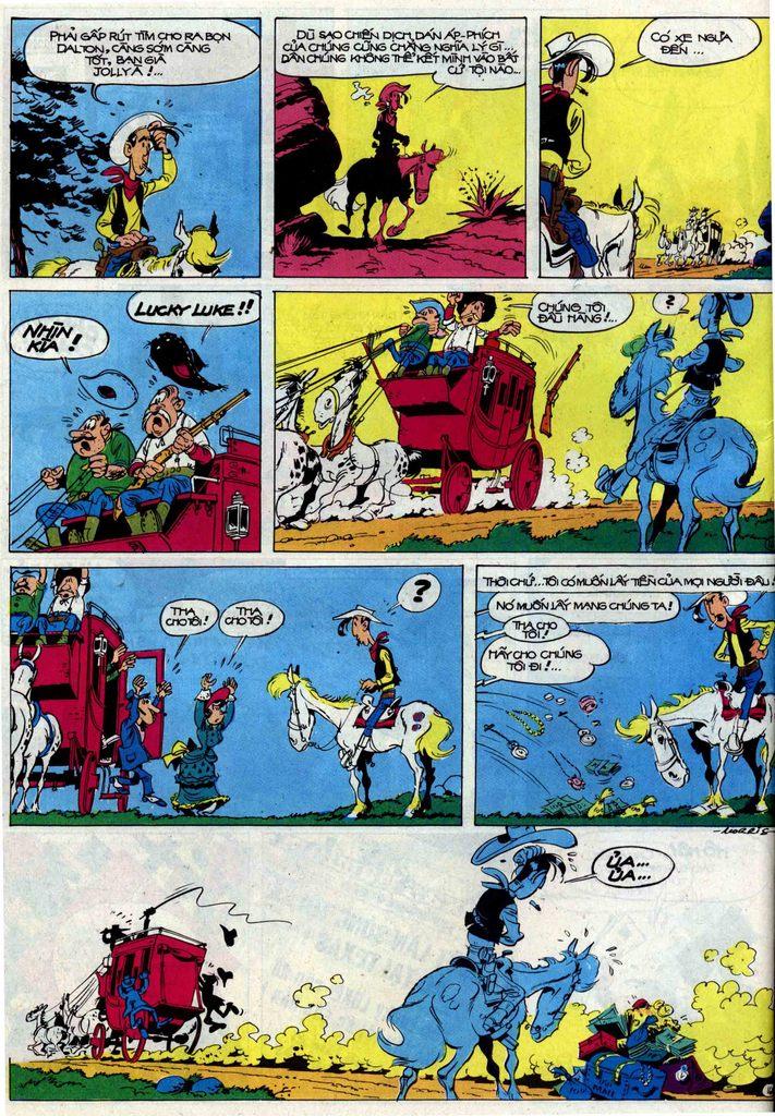 Lucky Luke tập 50 trang 16