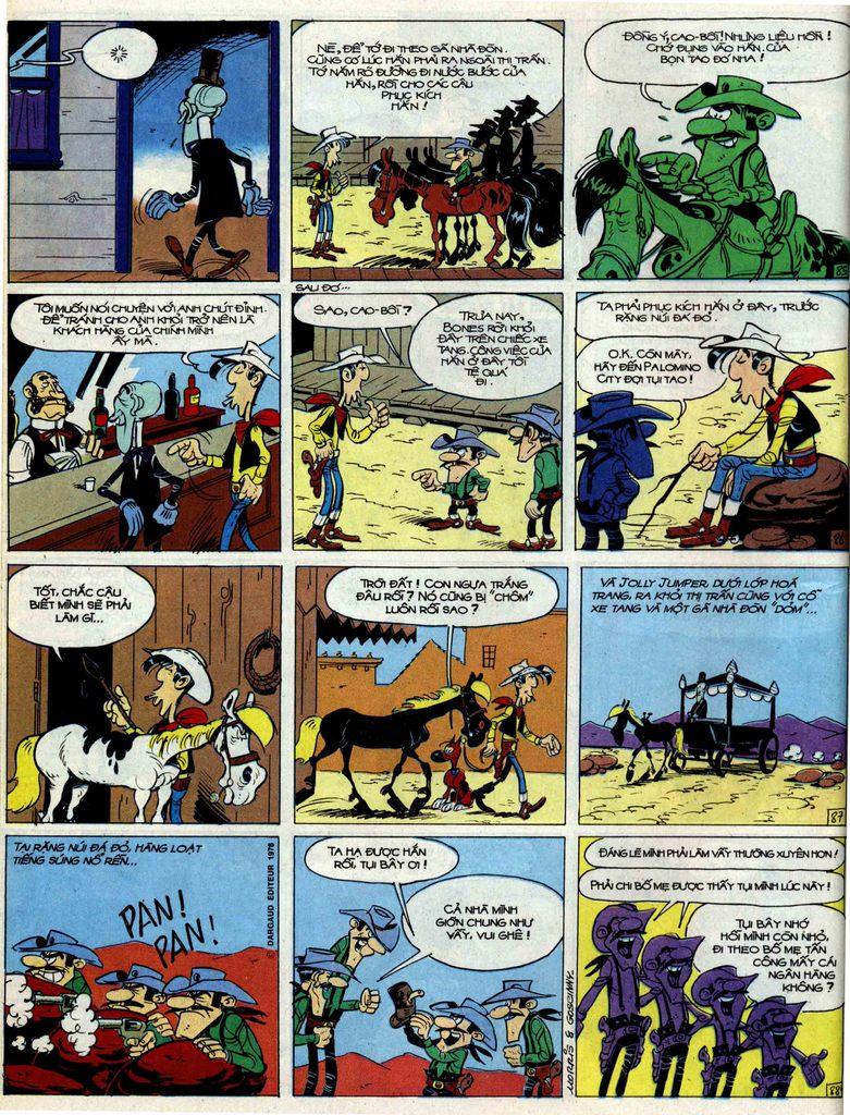 Lucky Luke tập 51 trang 22