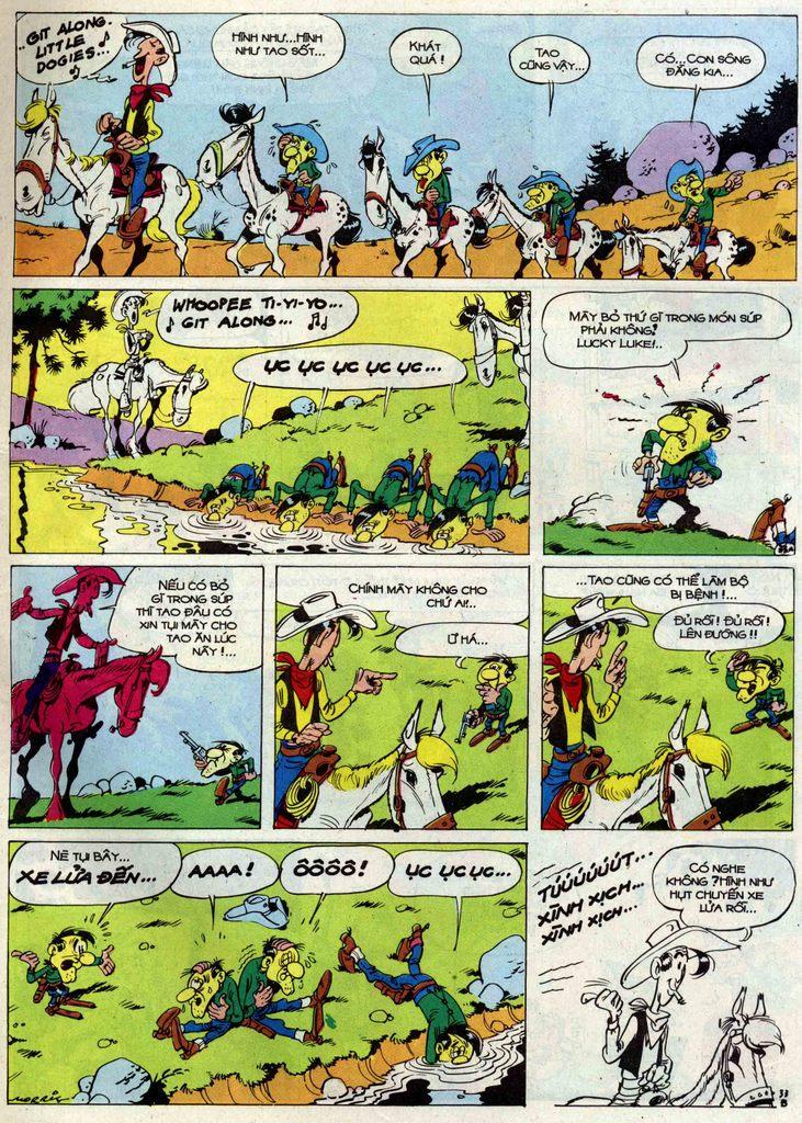 Lucky Luke tập 50 trang 33
