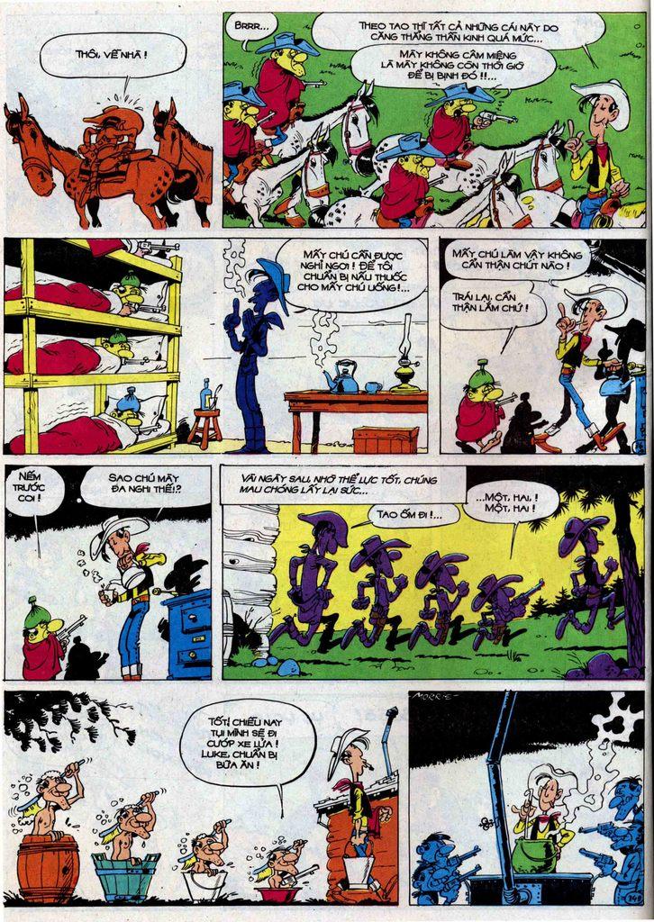 Lucky Luke tập 50 trang 34