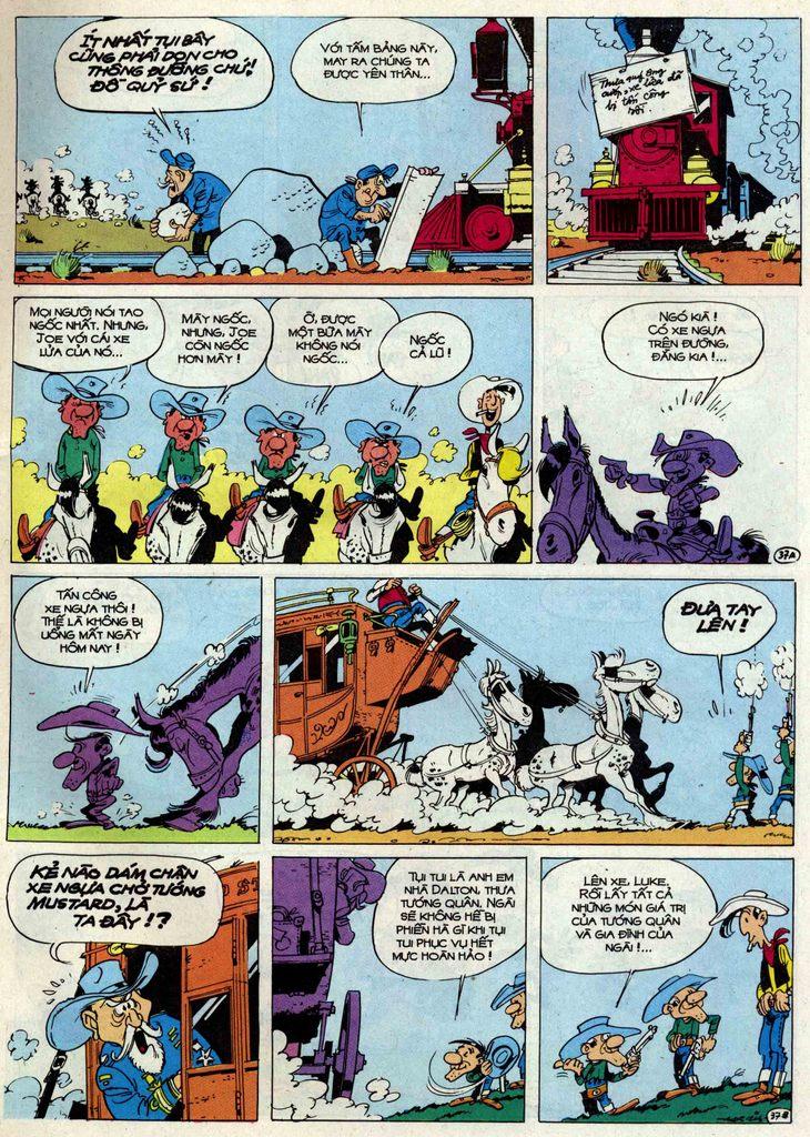 Lucky Luke tập 50 trang 37