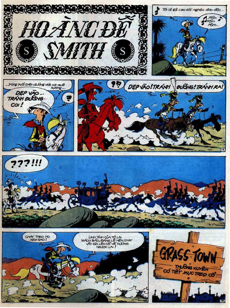 Lucky Luke tập 47 trang 1