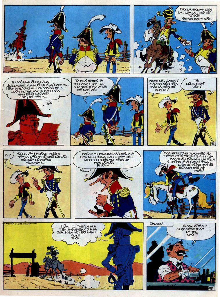 Lucky Luke tập 47 trang 9