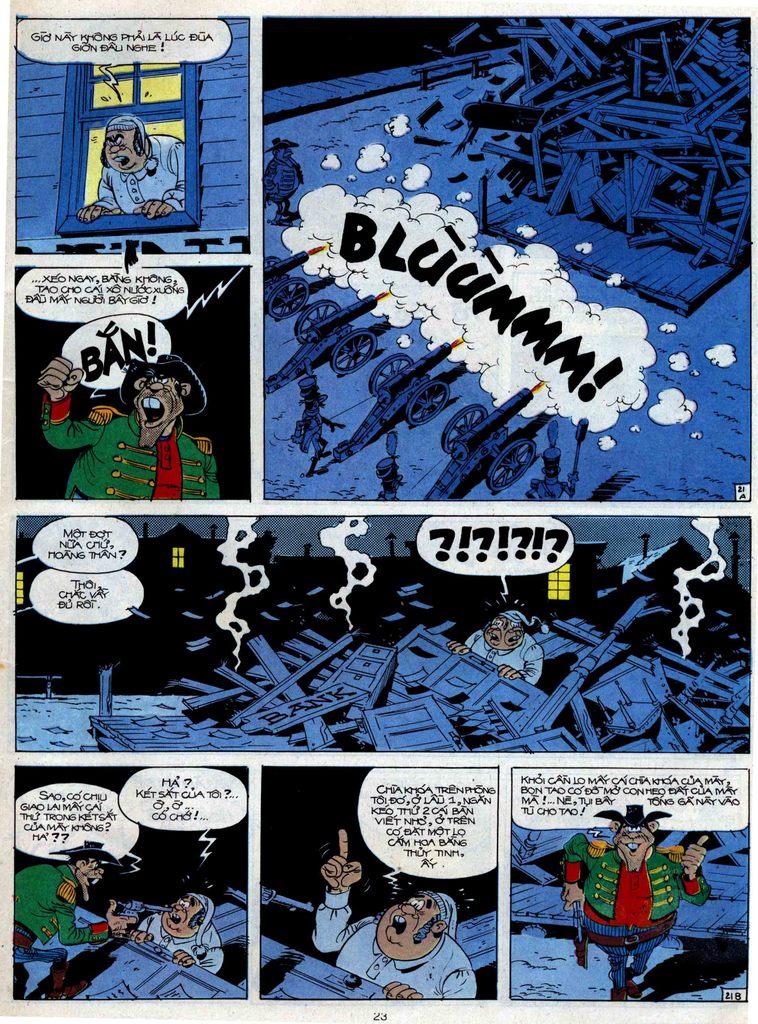 Lucky Luke tập 47 trang 21