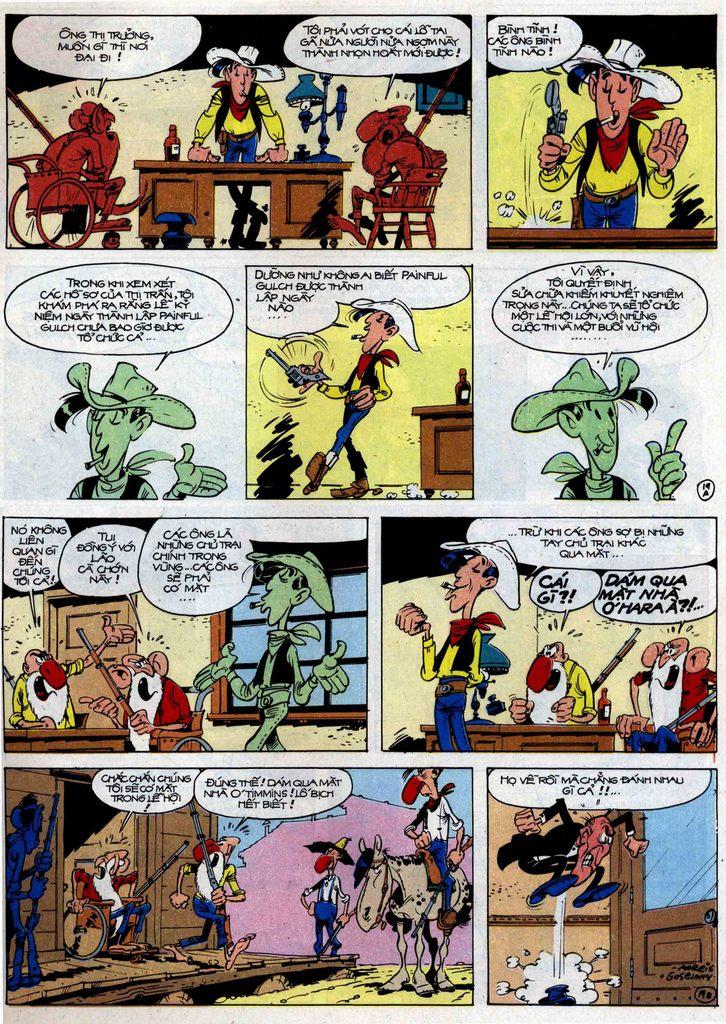 Lucky Luke tập 46 trang 19