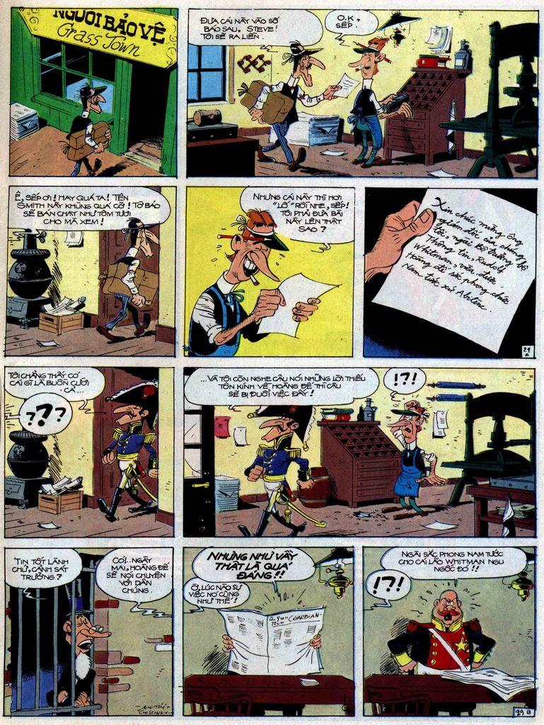 Lucky Luke tập 47 trang 29