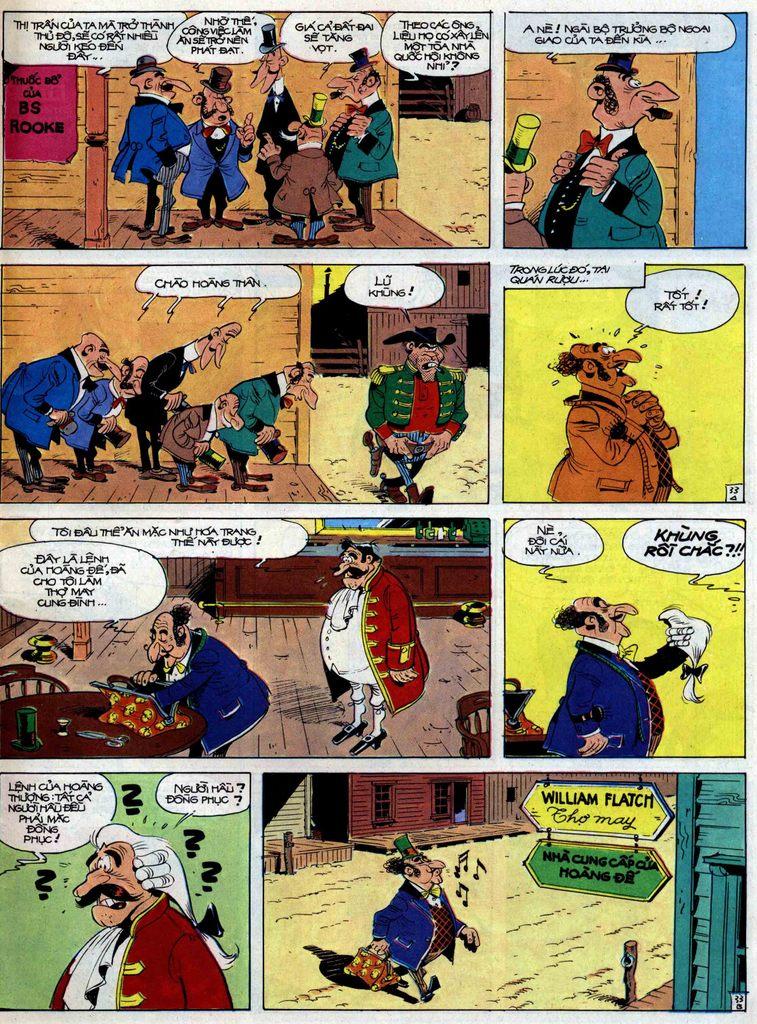 Lucky Luke tập 47 trang 33