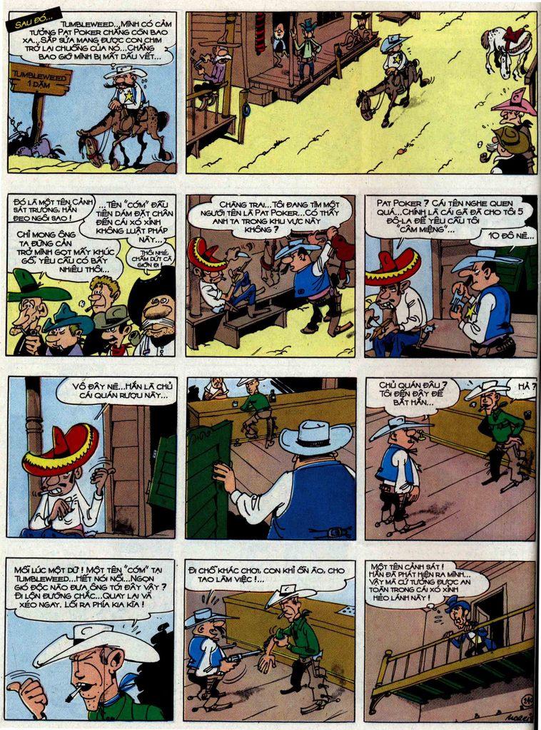 Lucky Luke tập 48 trang 36