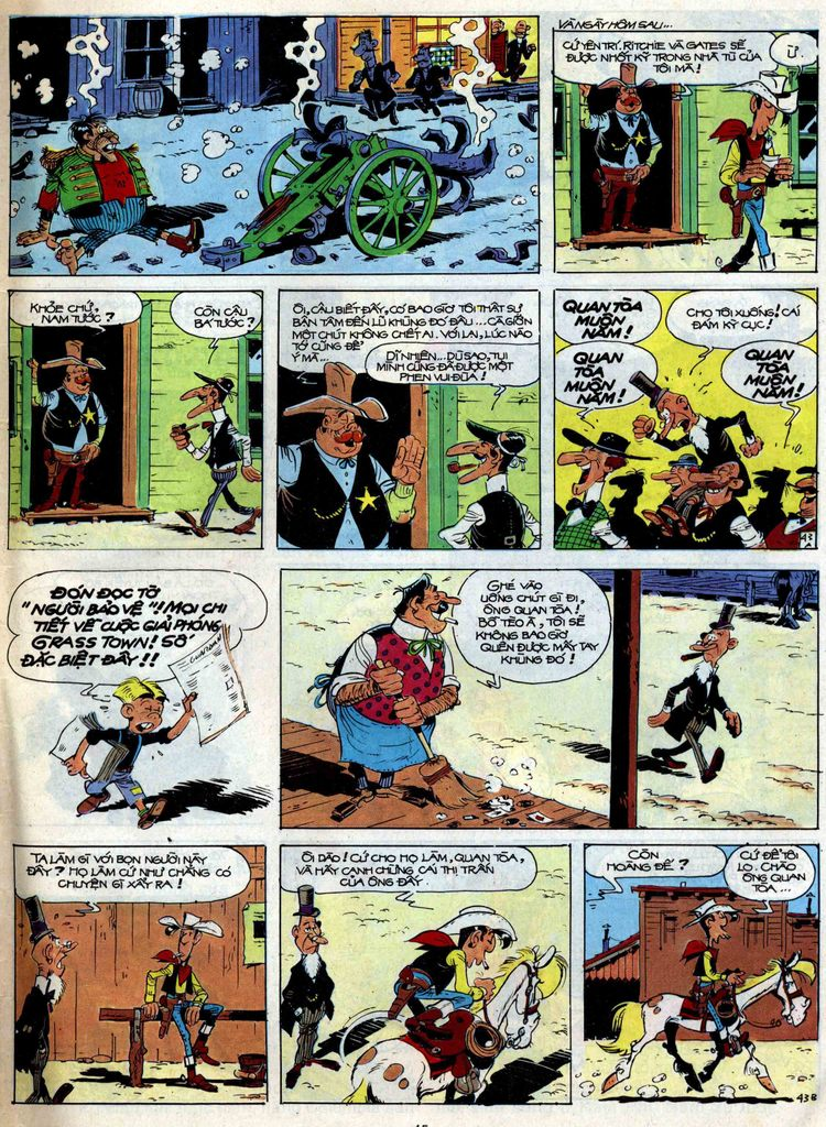 Lucky Luke tập 47 trang 43