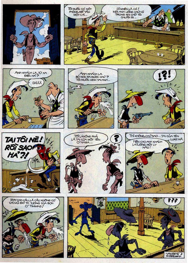 Lucky Luke tập 46 trang 3