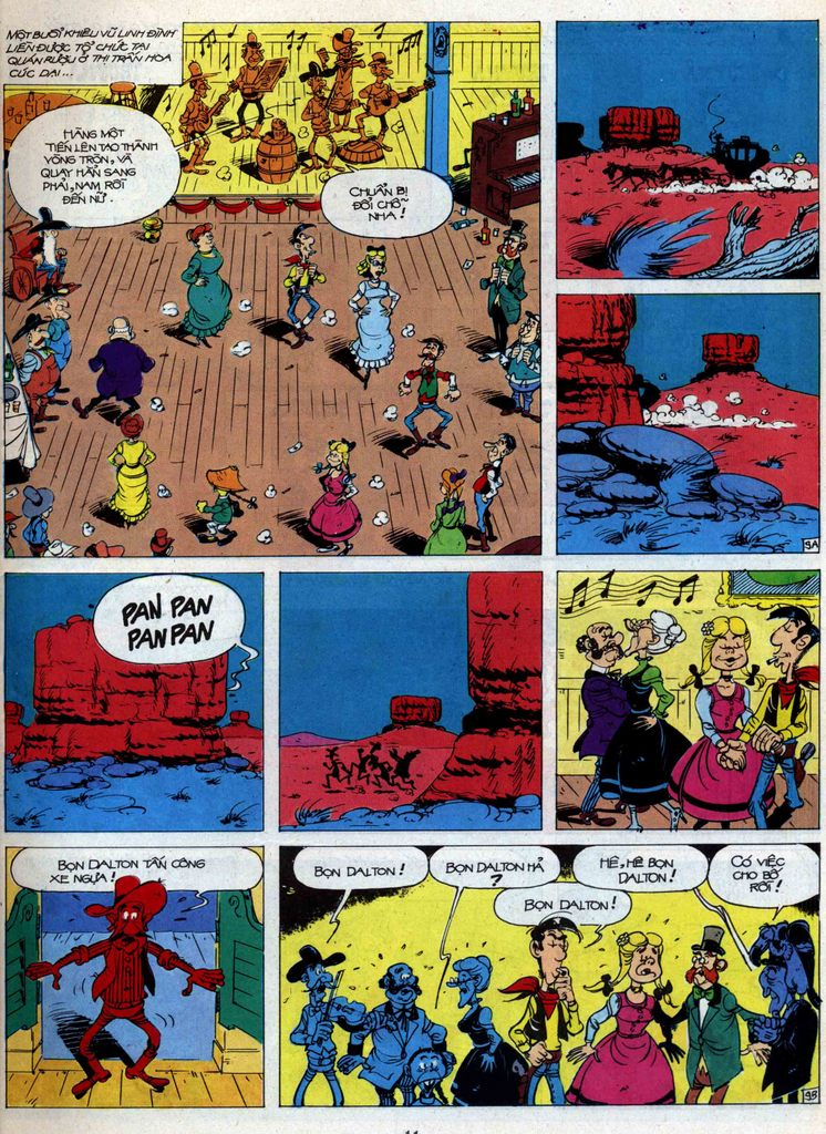 Lucky Luke tập 44 trang 9