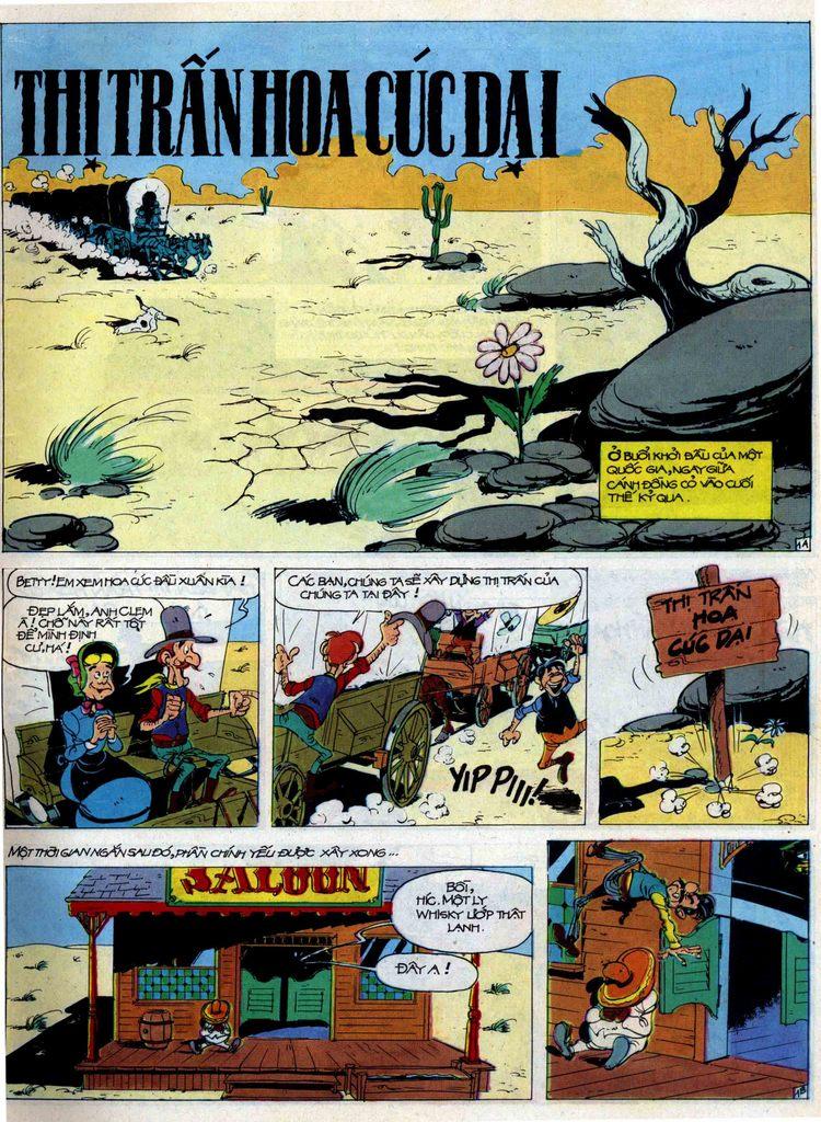 Lucky Luke tập 44 trang 1