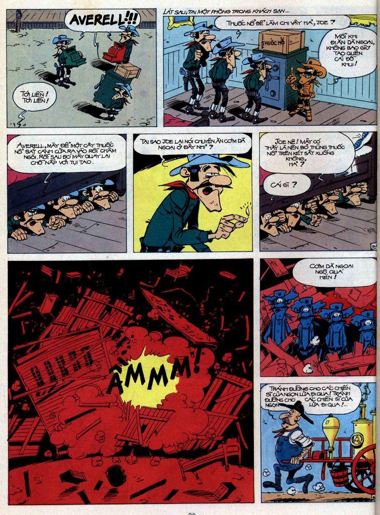 Lucky Luke tập 44 trang 20