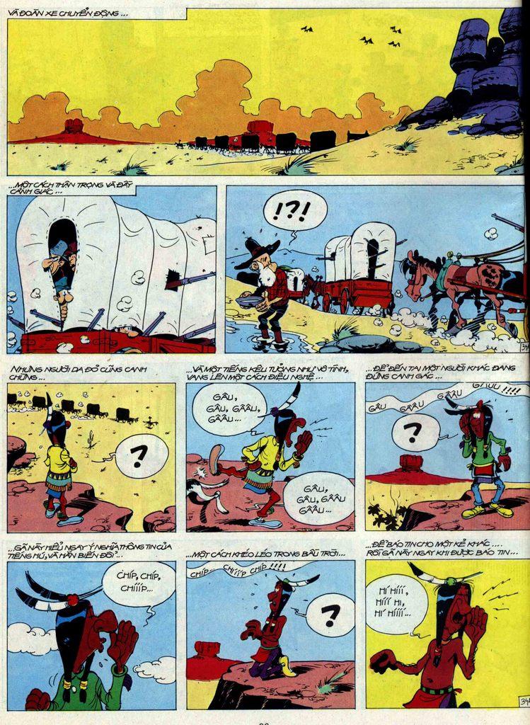 Lucky Luke tập 44 trang 34