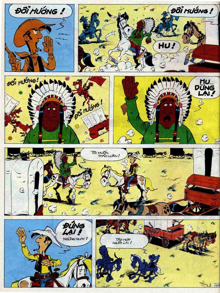 Lucky Luke tập 44 trang 40