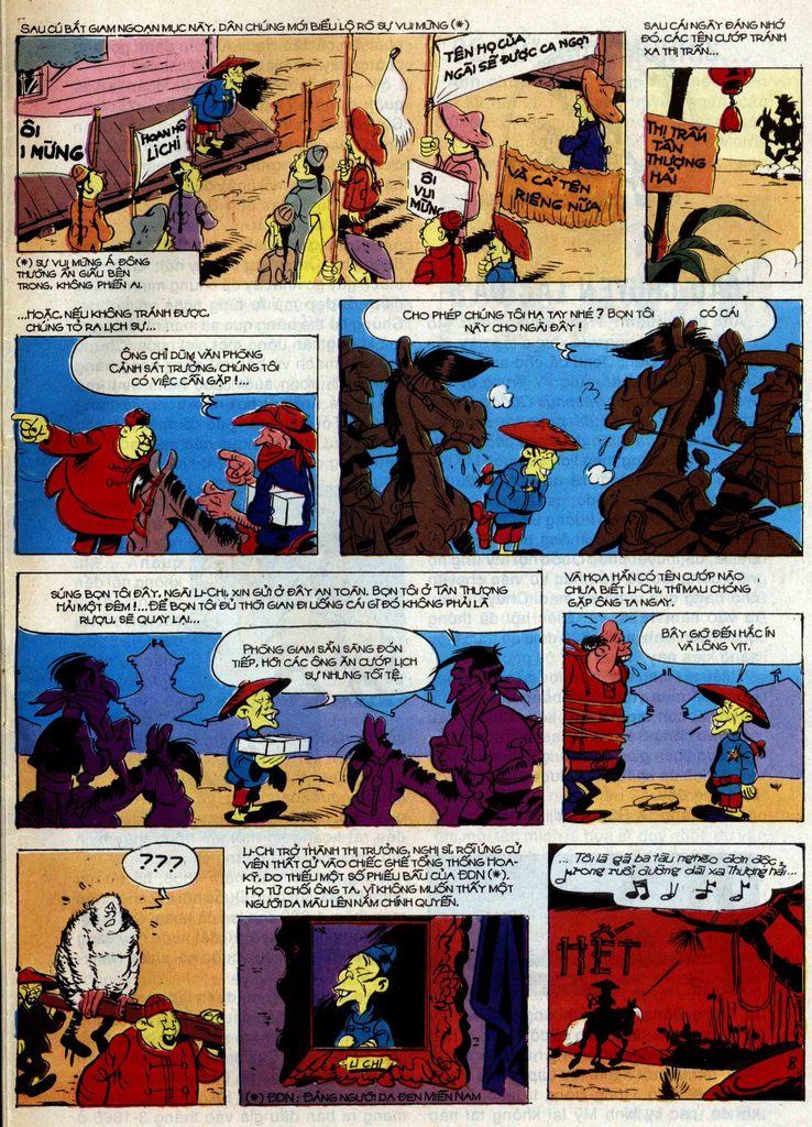Lucky Luke tập 42 trang 45