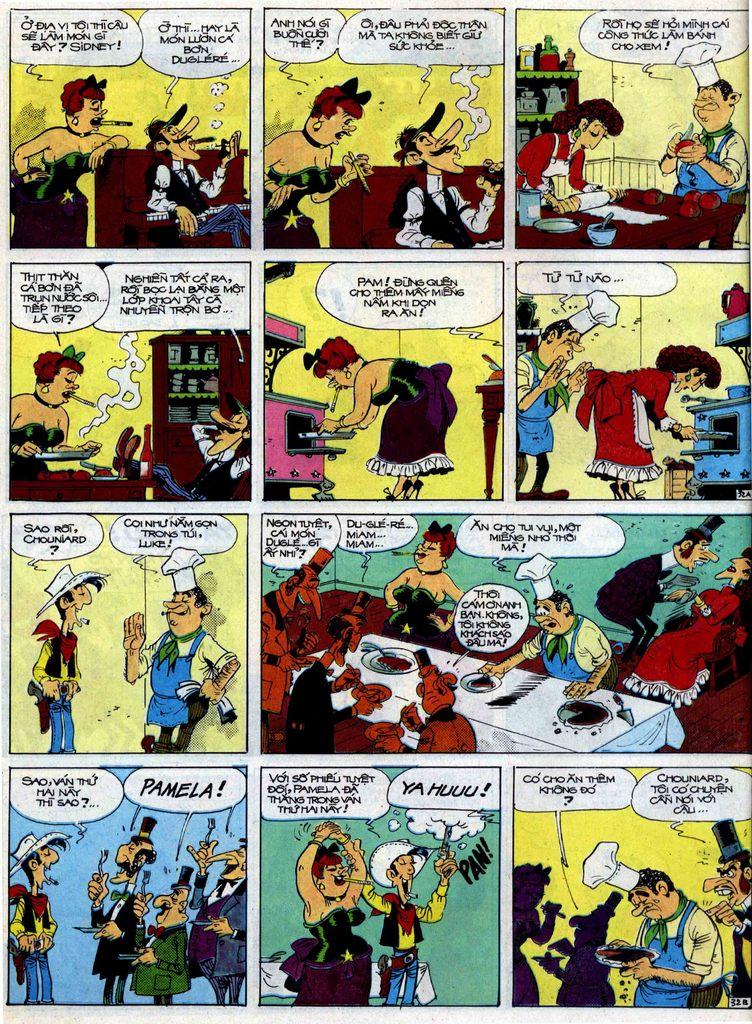 Lucky Luke tập 40 trang 32