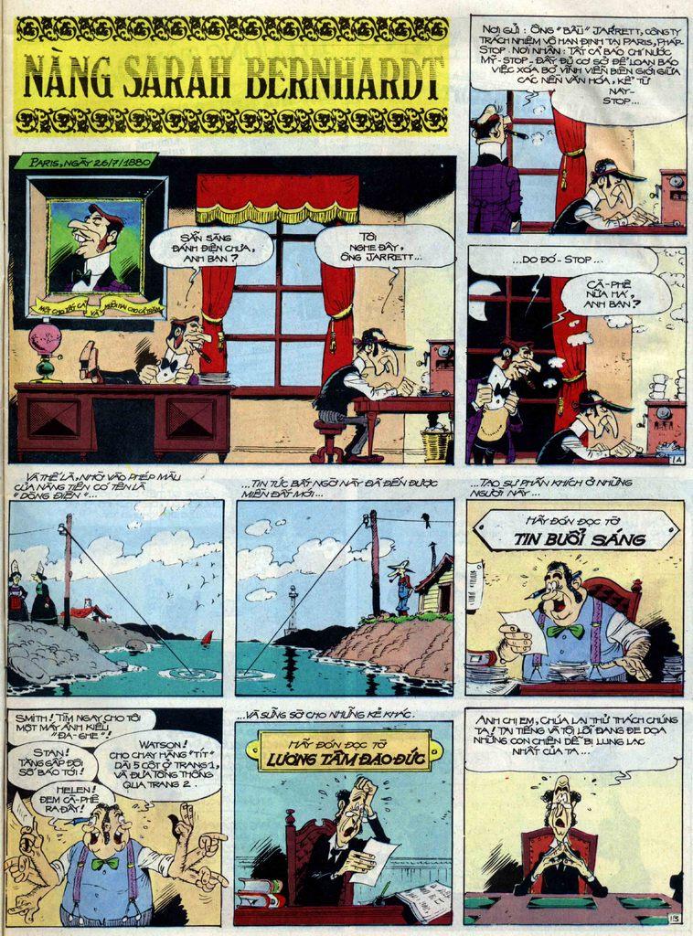 Lucky Luke tập 40 trang 1