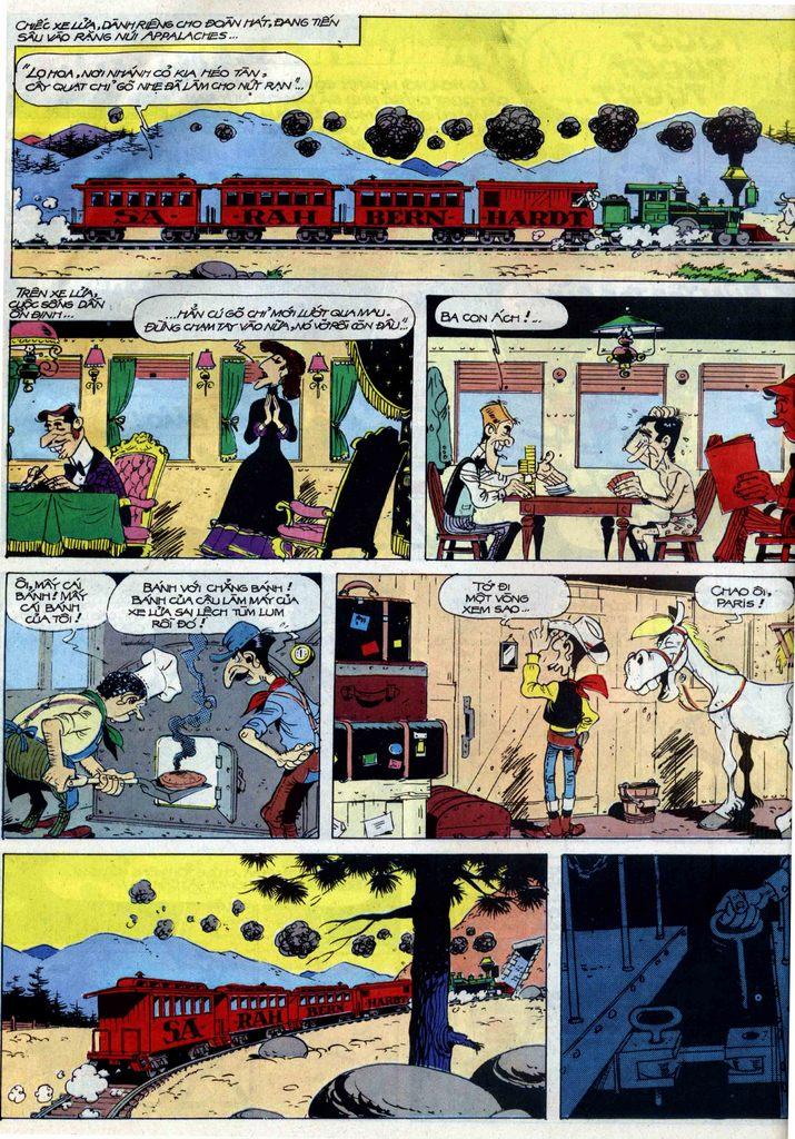 Lucky Luke tập 40 trang 4