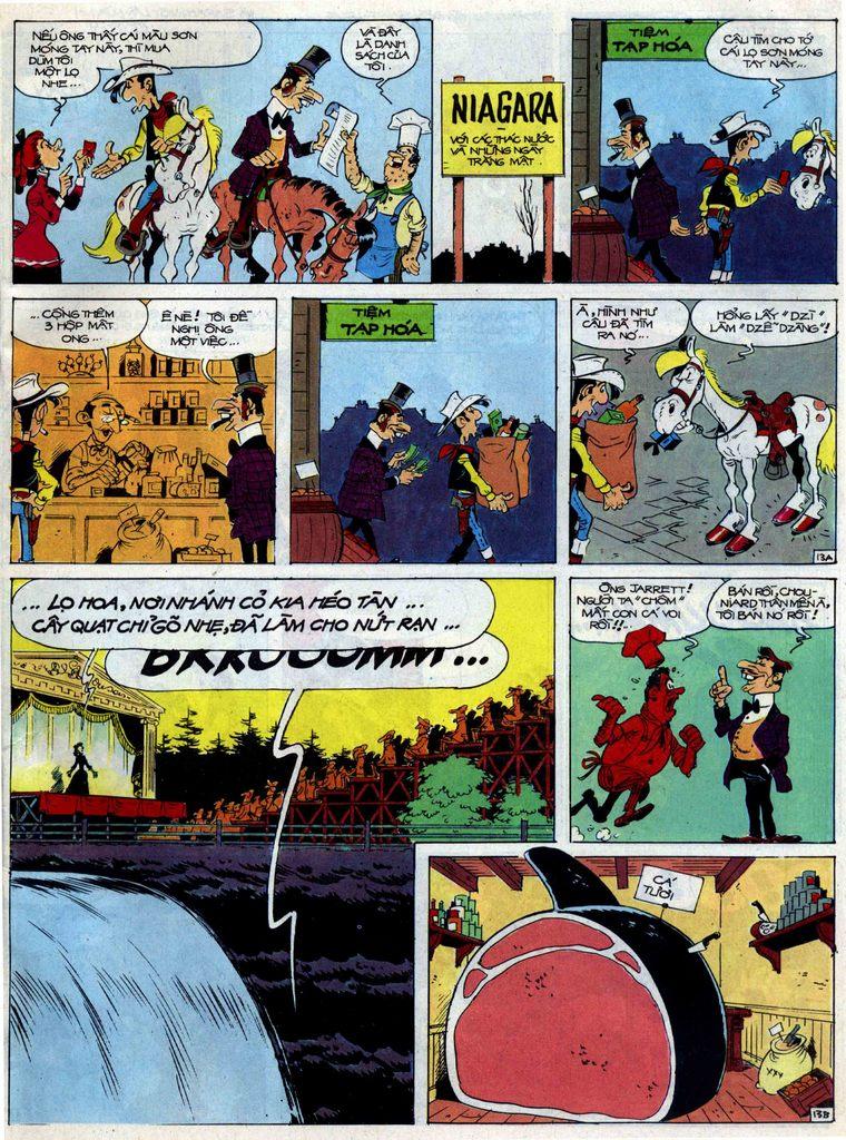 Lucky Luke tập 40 trang 13