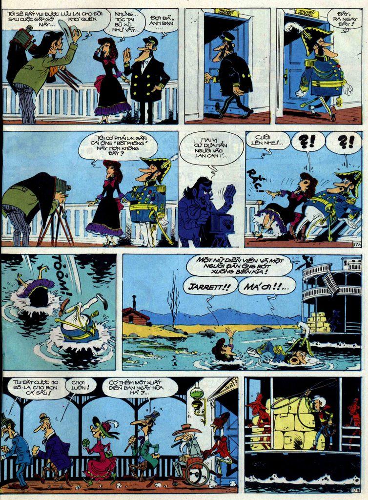 Lucky Luke tập 40 trang 17