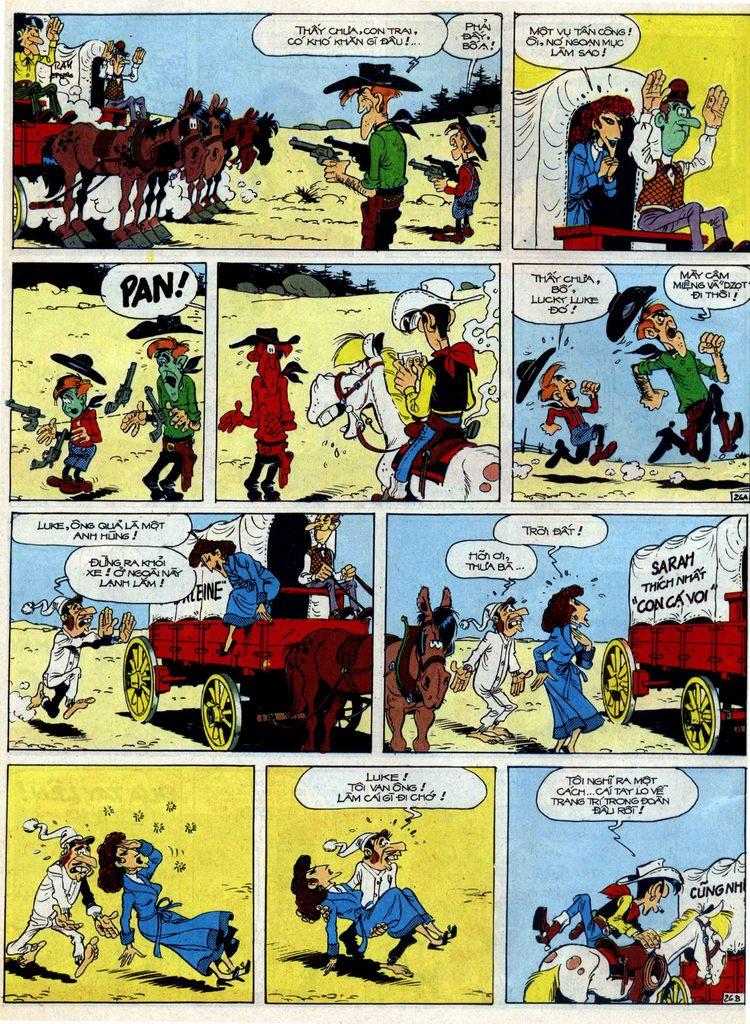 Lucky Luke tập 40 trang 26