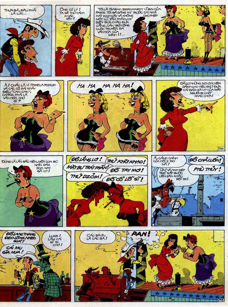 Lucky Luke tập 40 trang 29